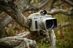 ©  - Nikon Coolpix A с видоискателем и блендой в тундре.