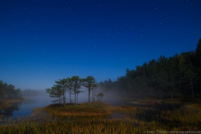 © Sven Začek - :sügisene rabamaastik täiskuu valguses. Nikon D810A + Nikkor PC-E 24mm. F5,6, 15s, ISO 1600.